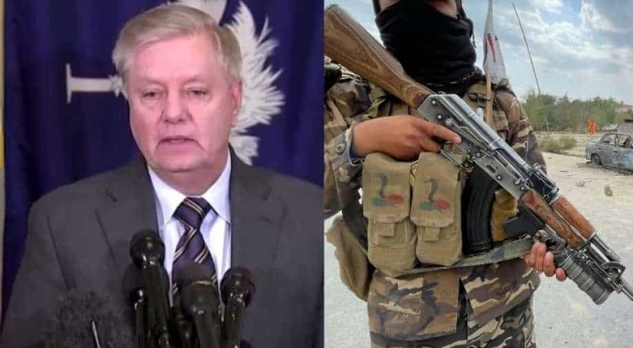 The chance of another 9/11 just went through the roof, Republican Senator Lindsey Graham tells Afghanistan