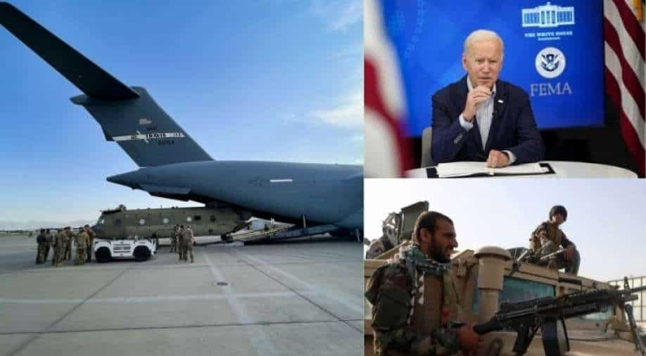Morning News: Taliban Hold Ceremonial Shots As U.S. Forces Leave Country & More