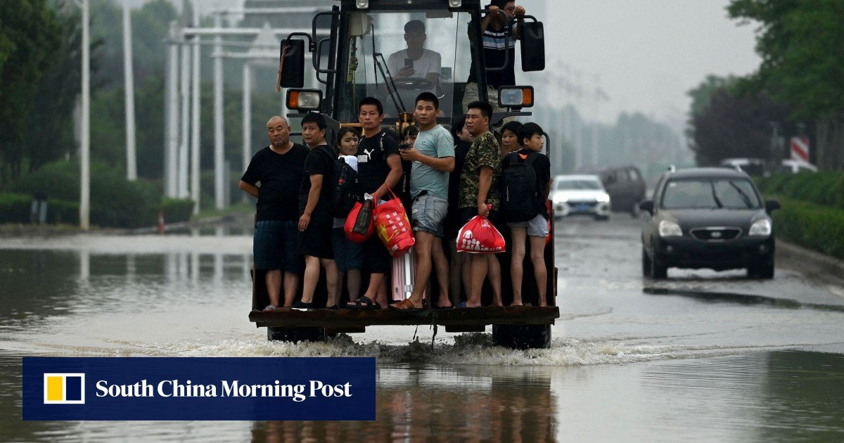 China will release raw materials essential to livelihoods in the wake of the Henan floods amid the surge in coronavirus cases