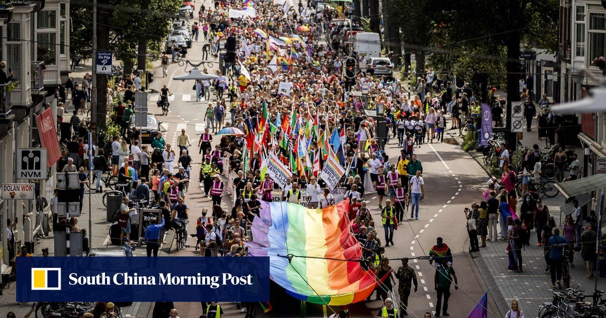 Amsterdam replaces the Pride Walk for the canal parade marking the 25th anniversary of the Gay Pride Festival
