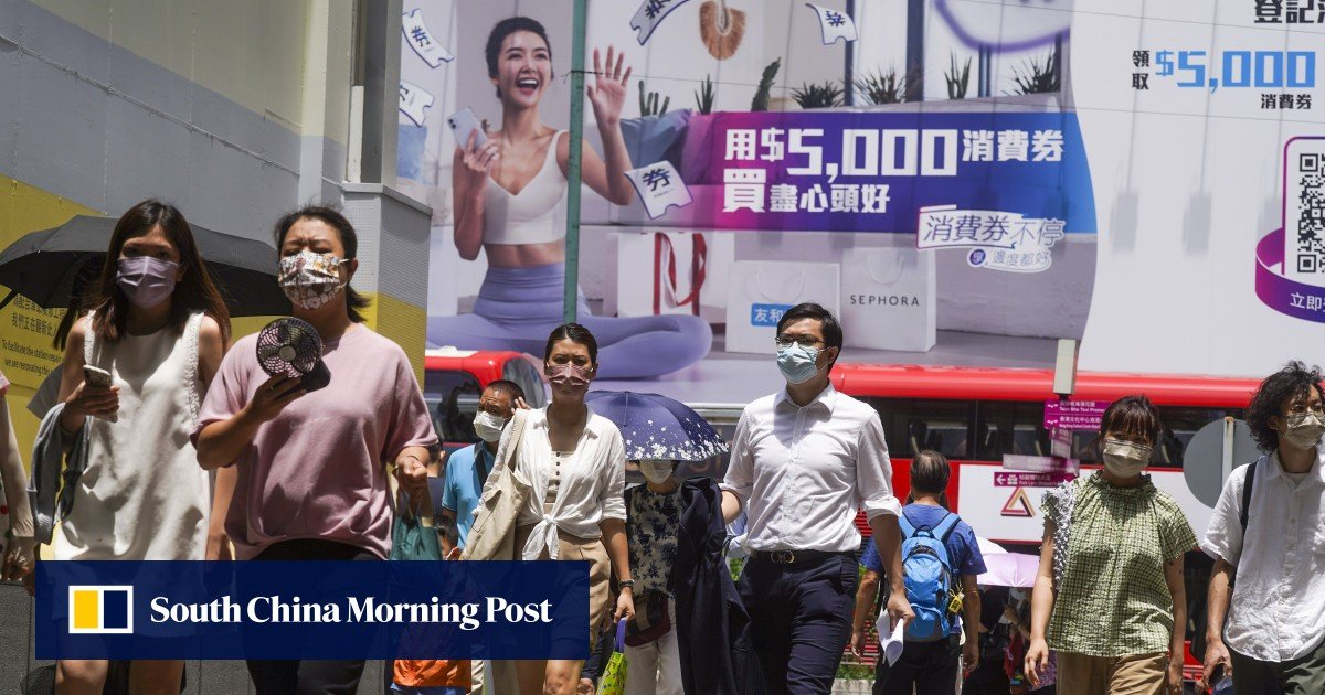 """HK $ 5,000 e-vouchers: Repeat spending program next year """"depends on Hong Kong's financial strength"""""""