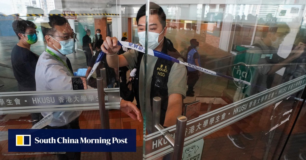 University of Hong Kong questions student leaders about how they voted on the controversial motion mourning a police officer
