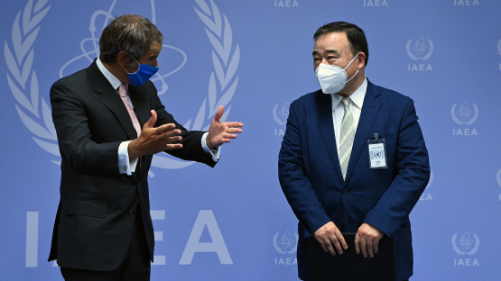 IAEA and Jan agree to implement the water release monitoring and verification project in Fukushima Daiichi.  to start