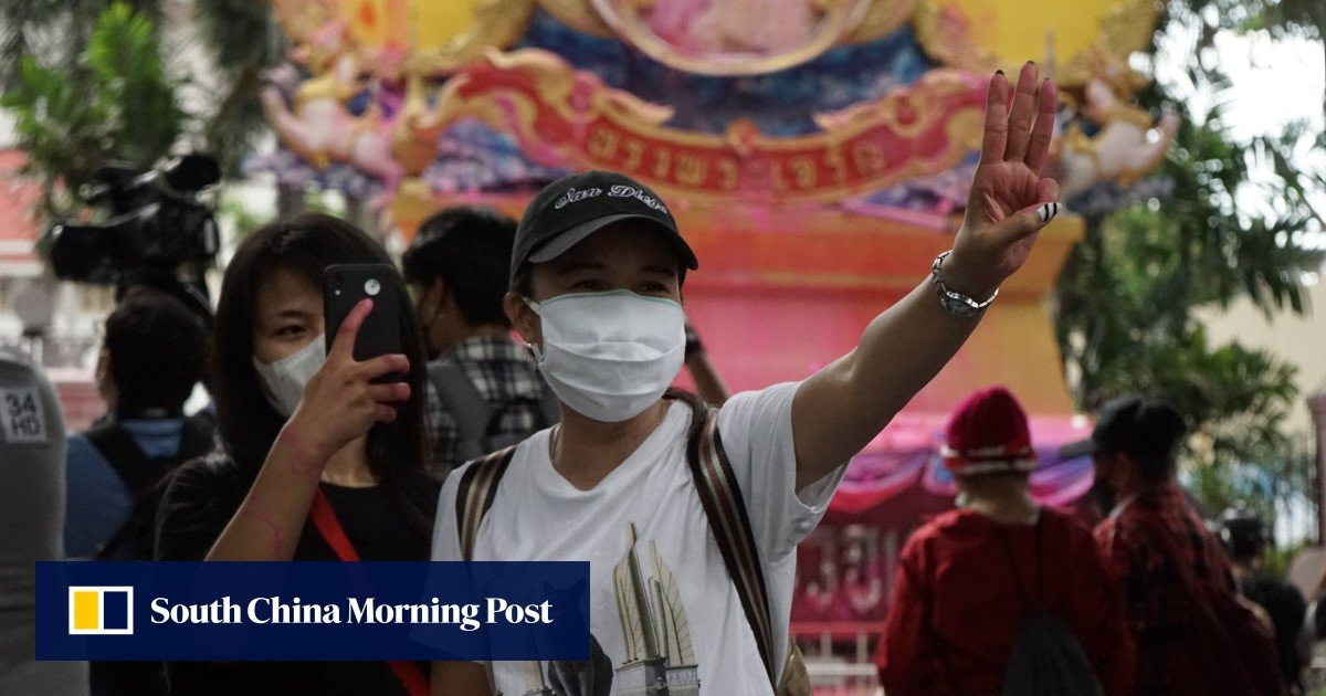 """As Thailand's Generation Z """"new race"""" protesters step in, violence mounts and hopes for a compromise dwindle"""