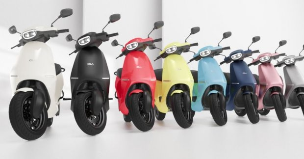 Ola electric scooter start close, expected range> 150km