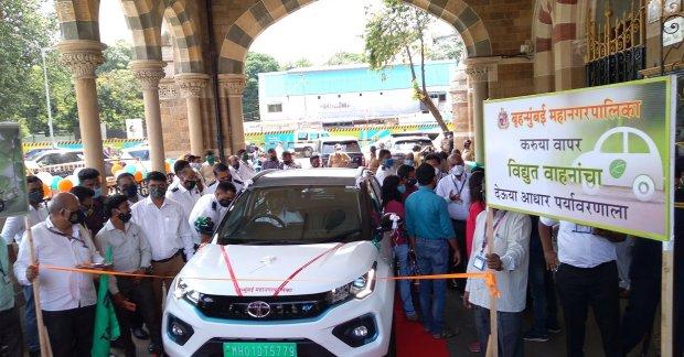 Tata Nexon EV delivered to Municipal Corporation of Greater Mumbai
