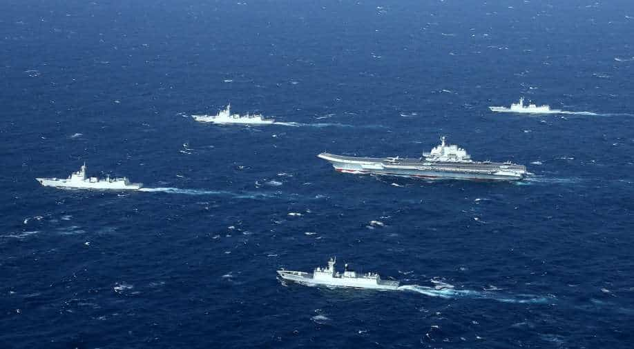 China is refusing German warships entry into the port, Berlin says