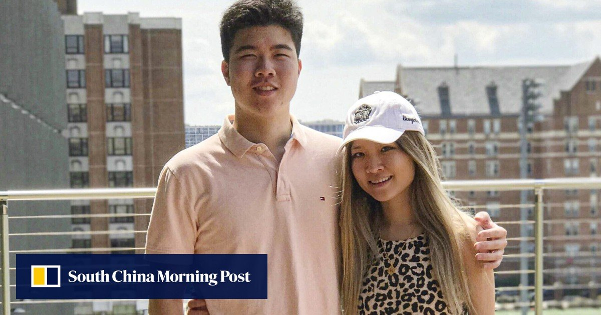 The US siblings Victor and Cynthia Liu are finally leaving China as the travel ban is lifted