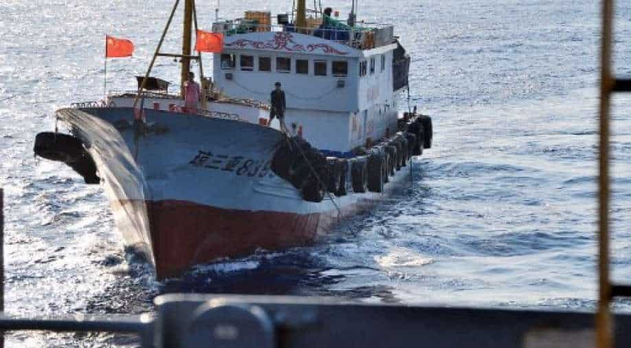 In the midst of the AUKUS series, concerns about overfishing by Chinese ships on the high seas are growing