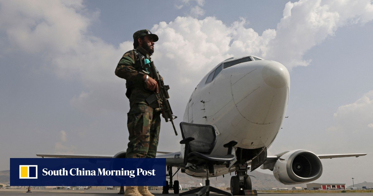 Afghanistan: First international commercial flight since the Taliban takeover lands in Kabul