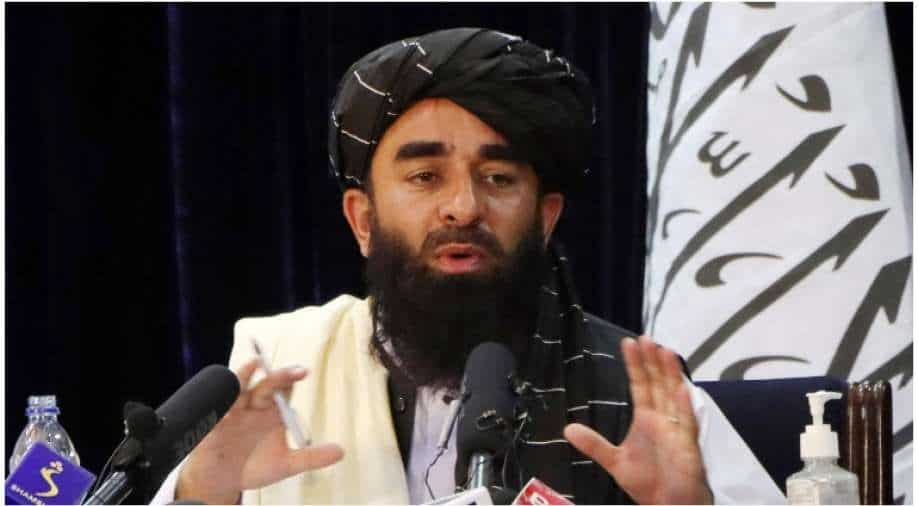 """They seriously thought """"Zabihullah"""" was a made-up figure, a Taliban spokesman jokes about the US presence"""