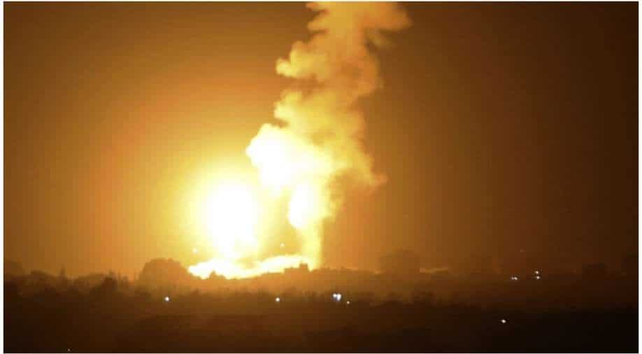 Israel launches air strikes in Gaza after balloon attacks