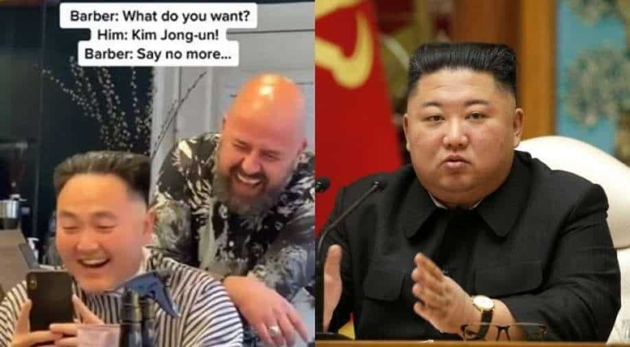 Watch: Hilarious Video of Man Getting Kim Jong-un Style Hairstyles Goes Viral