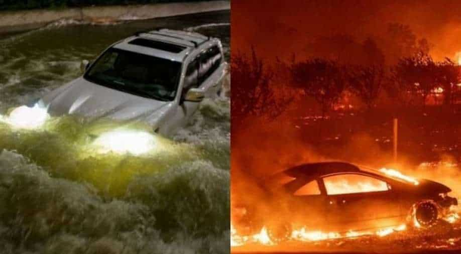 Is it a wake up call?  Forest fires and hurricanes become a regular misery
