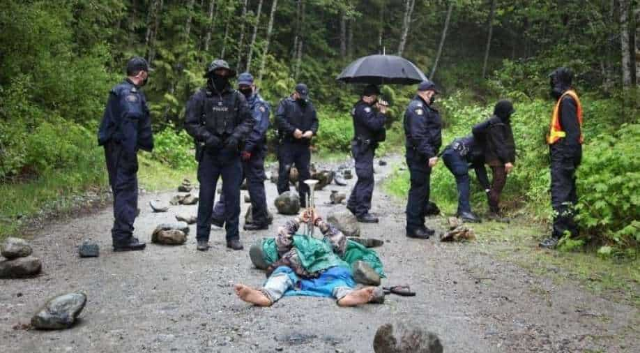 Canada has arrested over 850 anti-deforestation protesters since ril 2021