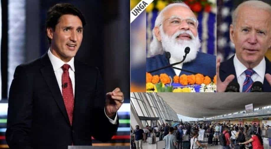 Morning Short Messages: Elections in Canada;  President Biden, US PM Modi Meet & More