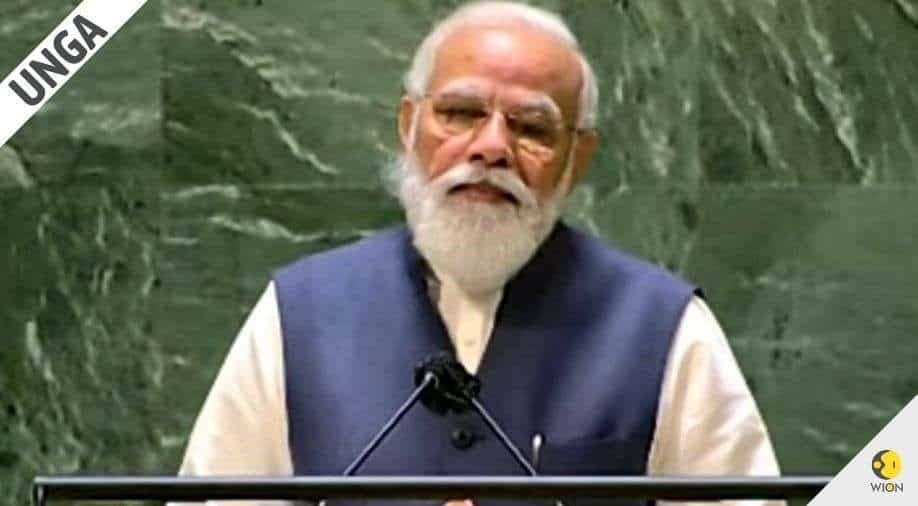PM Modi at UNGA: Covid taught the world that the world economy should be more diversified