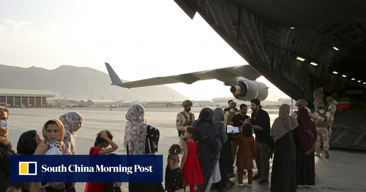 Evacuated Afghans looking to settle in the United States have been in prolonged limbo in third countries