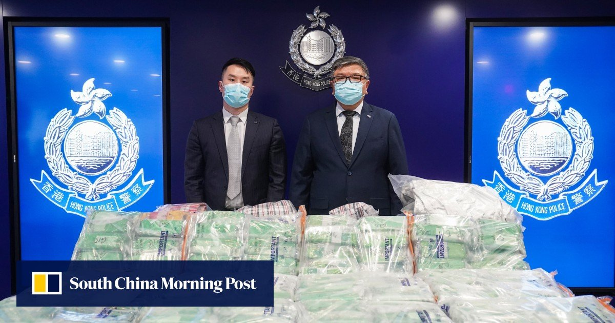 A Hong Kong man is charged with HK $ 130 million in crystal meth bust, the largest reported by police this year
