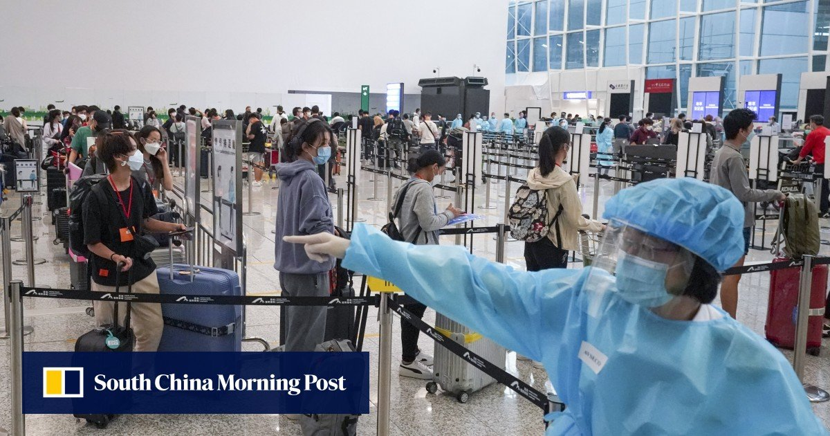 Coronavirus: three cases of a new mu variant found upon arrivals in Hong Kong, authorities have announced