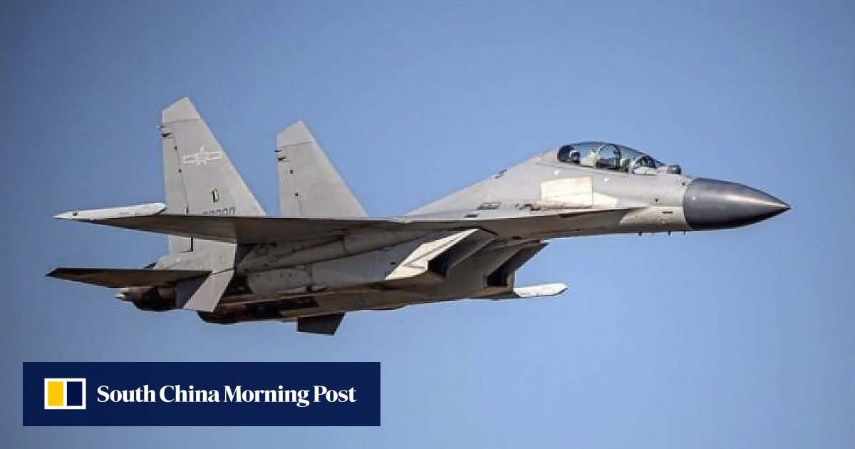 People's Liberation Army sends 24 fighter planes into Taiwan's air zone as a show of force