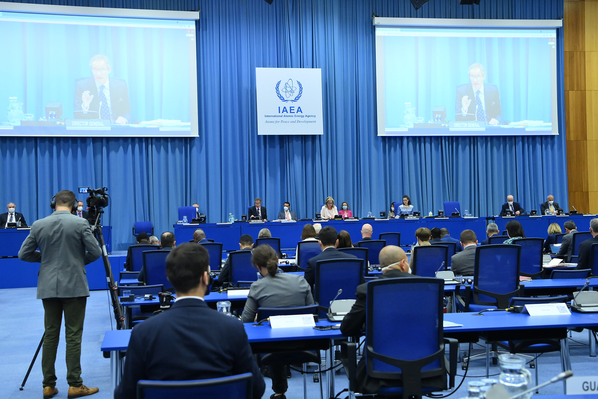 Developments with Iran are constructive, the Director General informed the IAEA Board of Governors