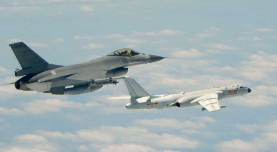 """""""Just move"""" military exercises near Taiwan, China claims"""