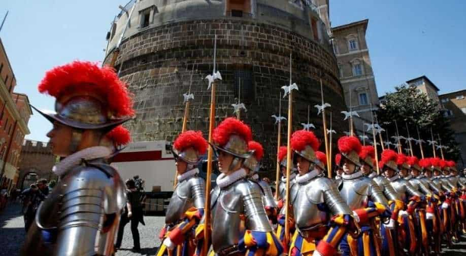 According to the report, three Vatican Swiss Guards resign because of the Covid vaccination mandate