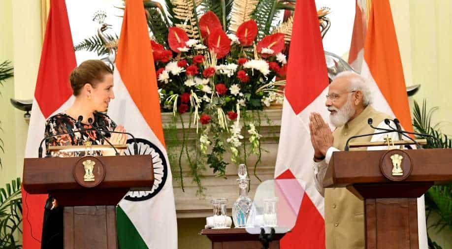 "India-Denmark concludes 4 agreements, emphasizes ""green strategic partnership"""