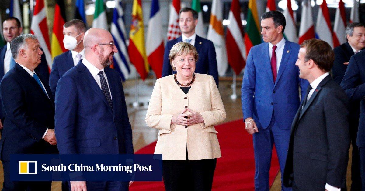 Angela Merkel bids a fund 'Auf Wiedersehen' at the likely final EU summit