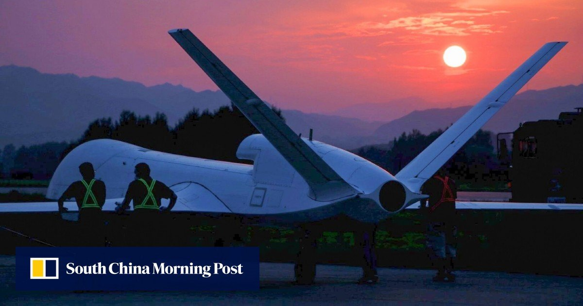 """New Chinese spy drone """"will make fighting scenes in the films a reality,"""" state media claim"""