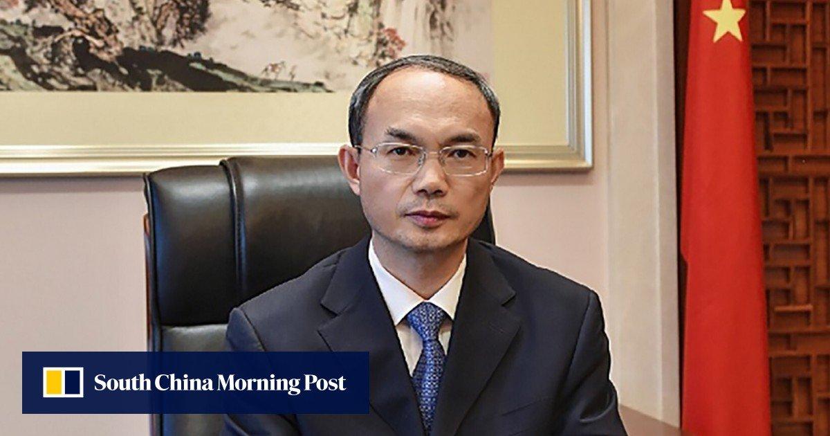 China's ambassador warns Belgian lawmakers as they debate Hong Kong resolutions