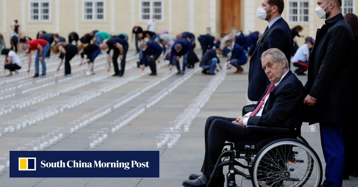 Czechs want to know what's going on with their sick President Milos Zeman
