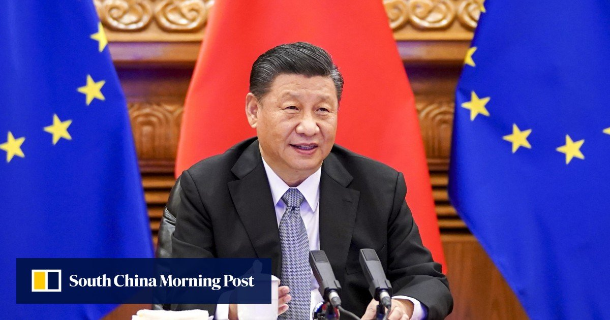 China-EU relations: Europeans seek face-to-face meetings with President Xi Jinping to ease troubled ties