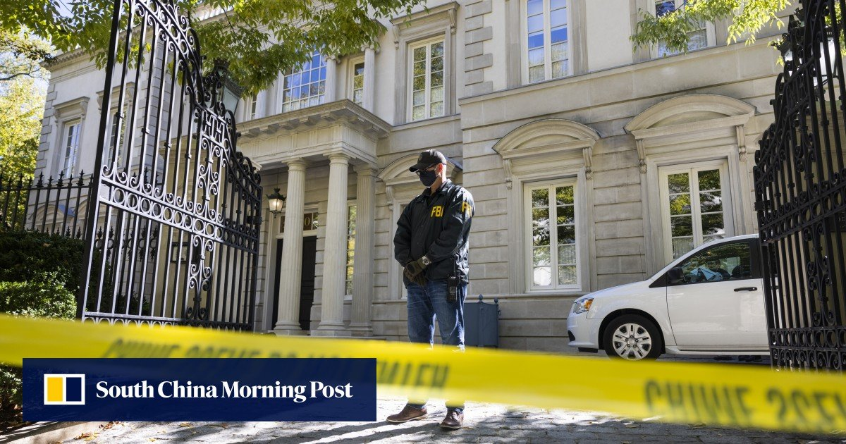 FBI searches villa in Washington linked to Russian billionaire Oleg Deripaska