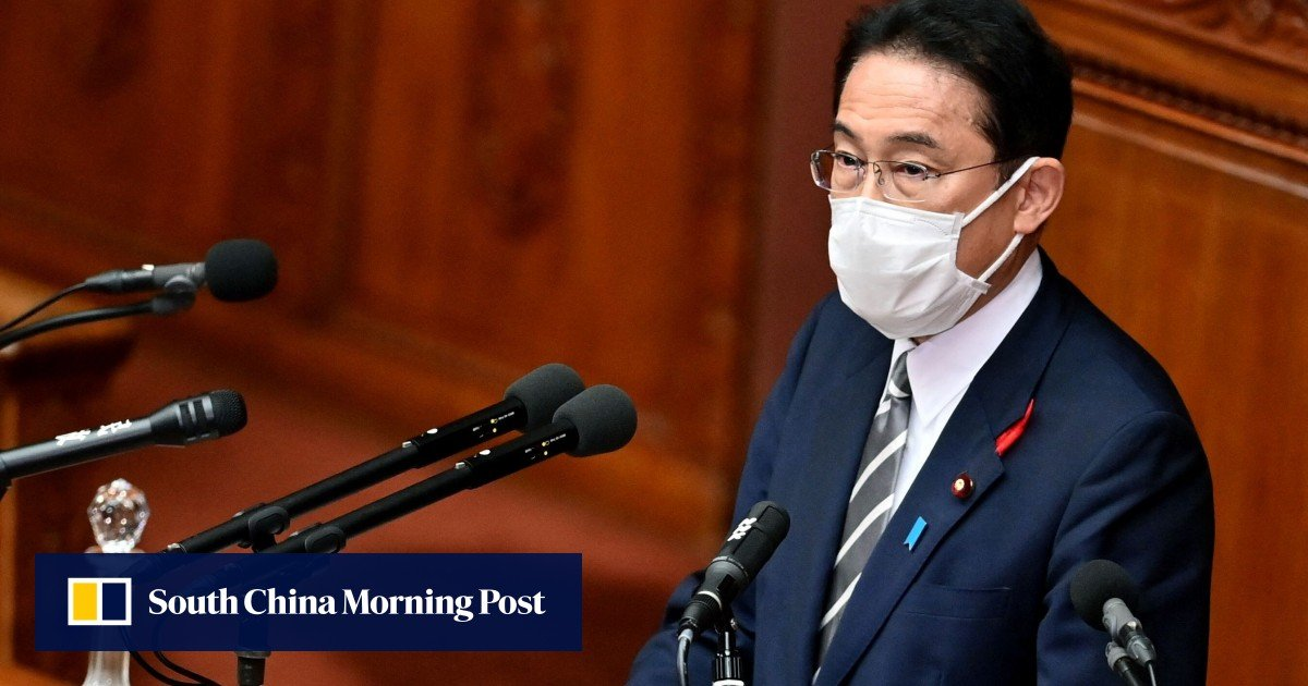 Jan's new Prime Minister Fumio Kishida promises to end the coronavirus crisis and strengthen defenses against China and North Korea